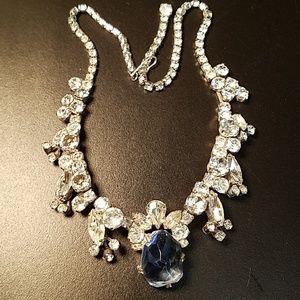 Rare Weiss Iceberg Rhinestone Necklace